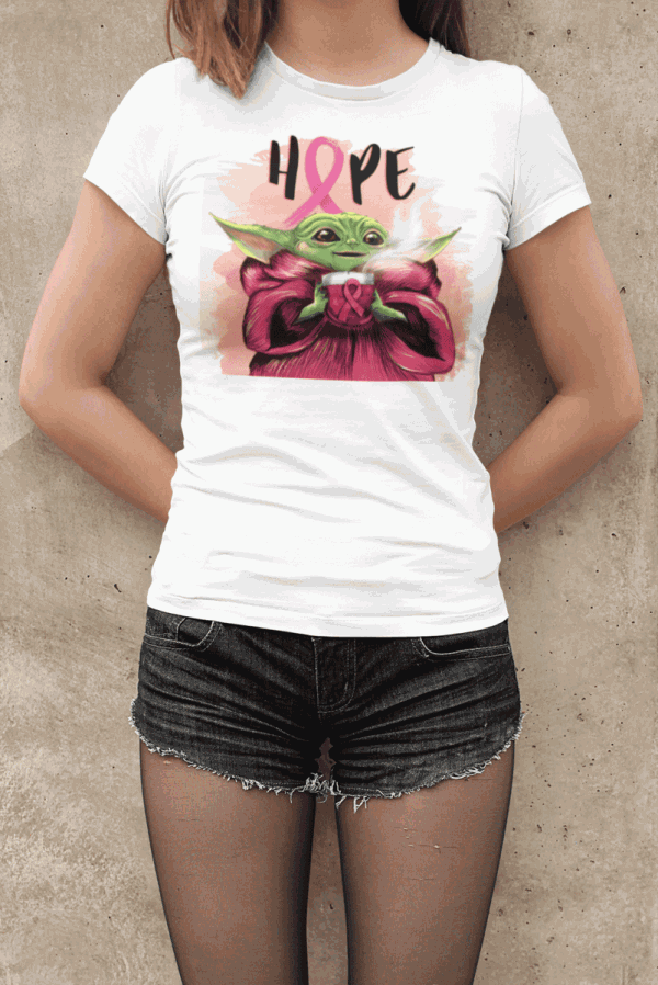 Damen T-Shirt - Joda HOPE Aquarell Design
