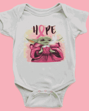 Babybody mit Hope Design